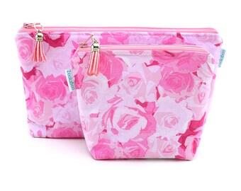 Essential Oil Purse - Essential Oil Organizer - Essential Oil Travel Bag - Essential Oil Travel Case - Floral Pouch - Zip Pouch