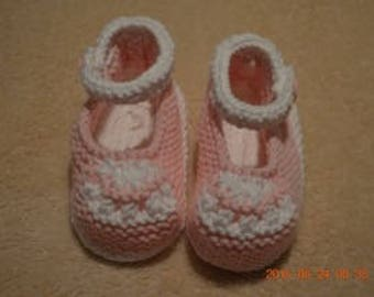 Knitted Mary Jane Shoes