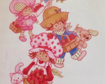 Strawberry shortcake vintage picture