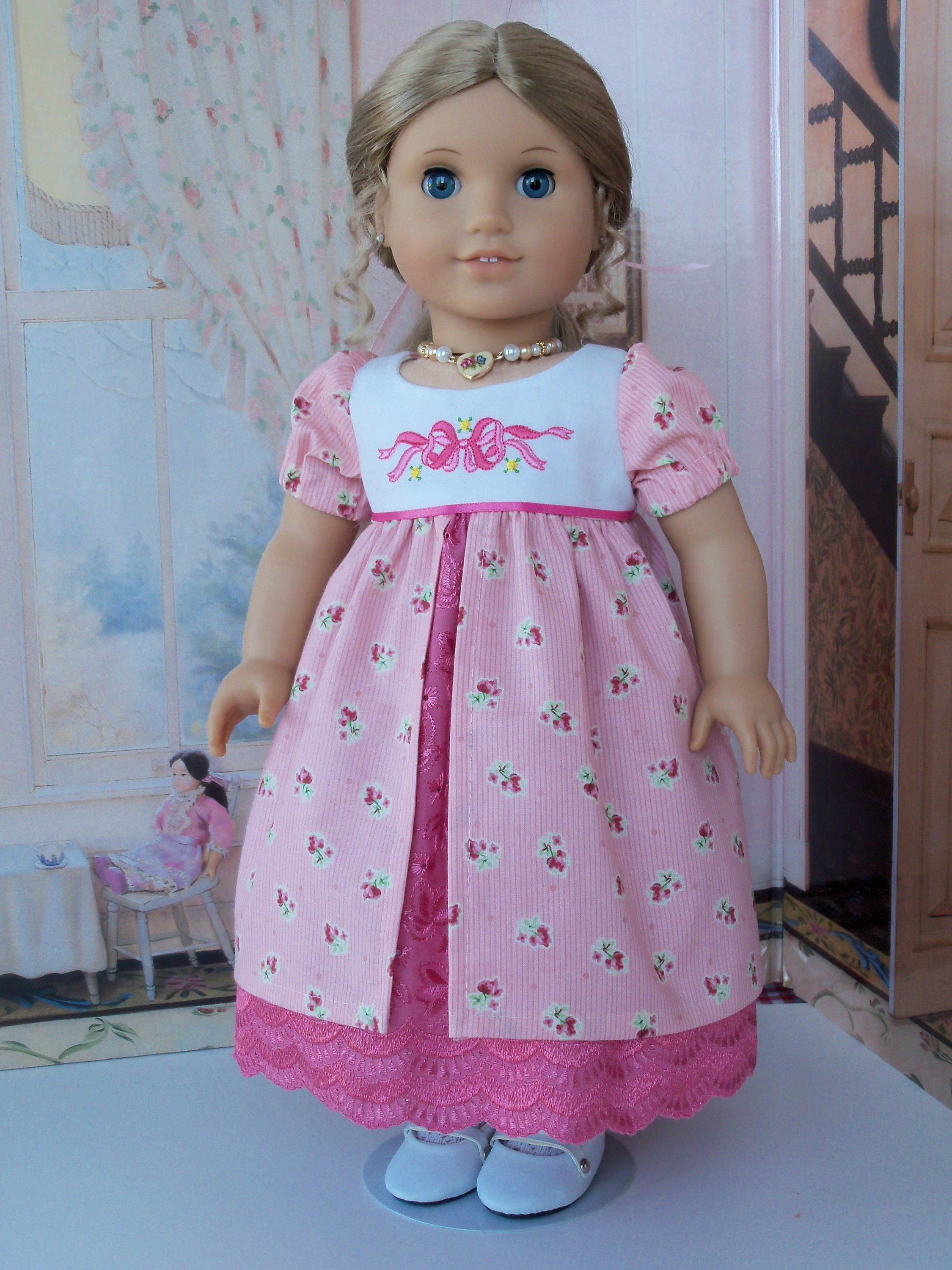 Pdf Sewing Pattern Fits Like American Girl Doll Clothes