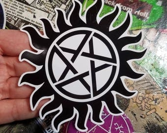 Vinyl Sticker - Anti Possession sigil