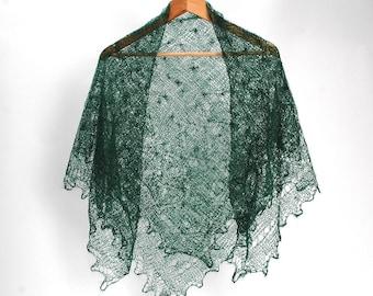 Summer lace shawl, WOOL Lace Shawl,knitted lace wool scarf, wedding lace shawl, orenburg lace shawl
