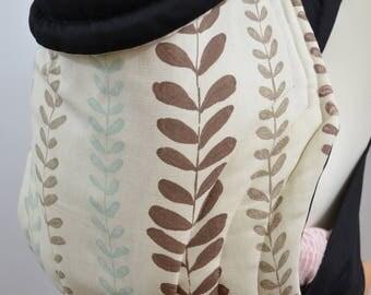 Mei Tai Baby Carrier / Sling / Reversible / Little Beauty / Leg Cut Model / Handmade / Made in UK / Cotton