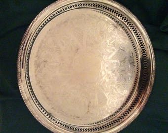 Vintage F.B. Rogers Silver Company Tray