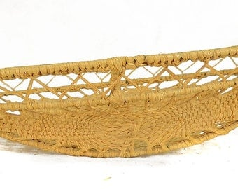 Chinese Woven Wire Basket with Openwork Miniature 80488