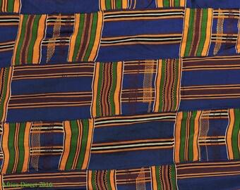 Kente Cloth Asante Handwoven Textile Ghana African Art 108083