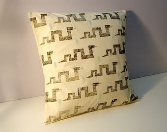 Snakes Pillow Cover