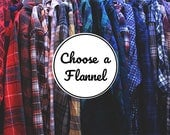 Vintage Flannel Shirts - Choose One