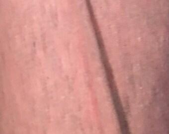 Gray Pink Cotton Lycra Fabric (yard)