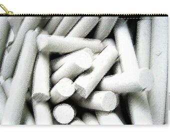 Chalk Carry All Pouch, Patrushka Tote, Pencil Bag, Travel Bag, Purse, Tote Bag, Fashion Bag, Cosmetic Bag, FREE SHIPPING USA