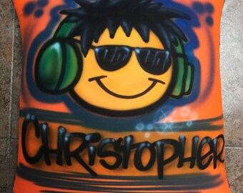 Airbrushed Squishy Pillows