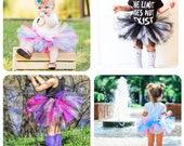 Custom baby tutu or newborn tutu - choose your own color combination