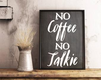 Chalkboard coffee print -  Coffee sign -  Coffee decor sign -  Coffee bar sign -  Kitchen coffee sign -  Chalkboard poster - PRINTABLE