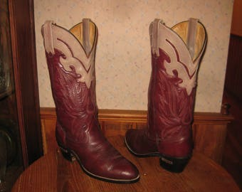 Laredo      Western  Boots       Handcrafted  In  USA       Women's  8.5  B