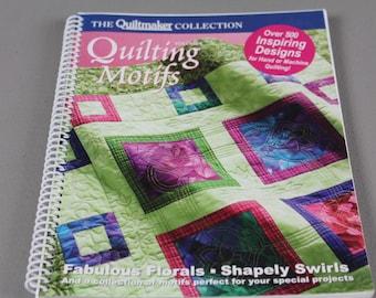 DESTASH-BOOKS, Quiltmaker Quilting Motifs, Vol. 6 & Vol. 7, quilting patterns from 20 years of Quiltmaker magazine.