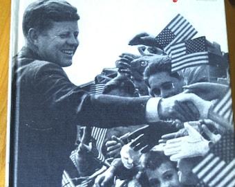 Meet John F. Kennedy by Nancy Bean White Step Up Book 1965 Hard Cover