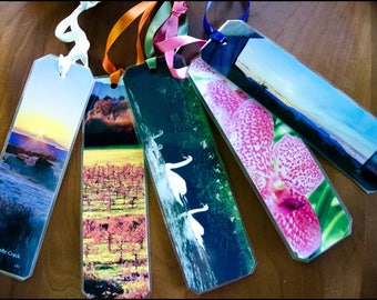 Flower Collection - Handmade Photo Bookmarks