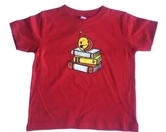 snail kids shirt, reading t-shirt, books kids t-shirt, kids gift, cute snail, snail shirt