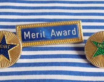 Vintage Merit Badges
