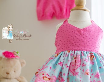 Strawberry Shortcake halter top with shorties- size 12mo-4