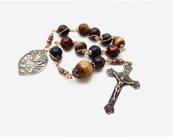 Unbreakable single Decade Rosary of The Sacred Heart Of Jesus