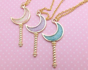 Moon Wand Necklace