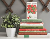Collection of Vintage Gardening and Nature Books - Flowers / Trees / Gardens