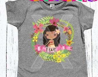 Princess birthday shirt Any Age Applied 1 2 3 or beyond birthday shirt Mona birthday party shirt Princess Birthday Shirt Age