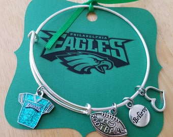 Philadelphia Eagles Charm Bracelet