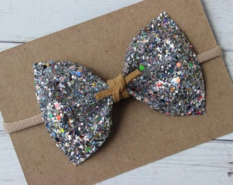 Pyrotechnics Glitter {MILLIE} Bow - Spring + Summer 2017