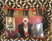 Hat and Hound Tavern pillow