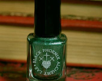 Titan Toadstools and Leprous Fire : Claw Polish by Black Phoenix Alchemy Lab and Trading Post