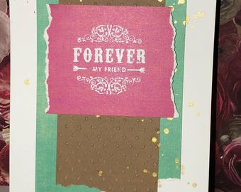 Various discounted handmade friendship cards