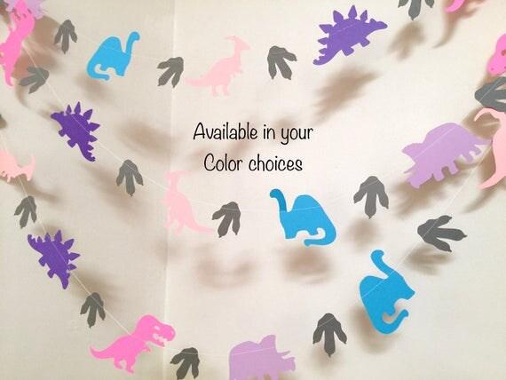 Girls Dinosaur Birthday Party Decorations 10 ft Dinosaur Baby