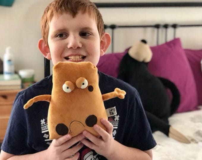 Angry Potato Muma Plushie, Little Pocket Potato Stuffie Toy, Funny Pocket Veggie Plush