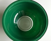 Hold for Corrine, Vintage Pyrex, Mixing Bowl, 323, 1.5L Green, Pyrex Mixing Bowl, Bakeware, Clear Bottom