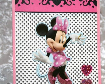 Minnie Mouse Card For Sale  20170338