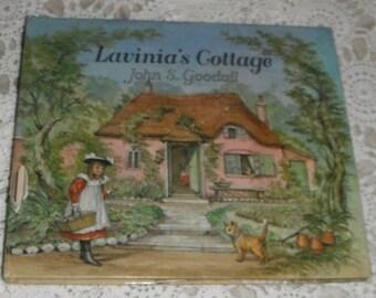 Lavinia's Cottage John S Goodall Vintage Hardcover Book