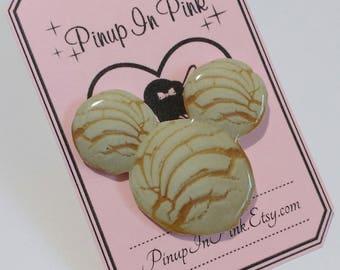 Mickey Concha Pan Dulce Pin