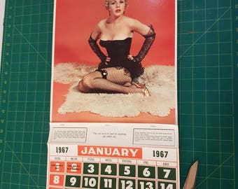 Vintage Calendar 1967