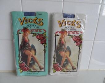 Pantyhose, VICKS various, 1970s