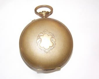 Gold Hunter Antique 45mm  Pocket Watch Case