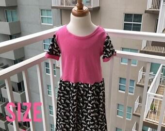 70% Off Pink Cat Knit Dress Size 6