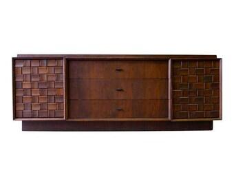 Mid Century Modern Brutalist CREDENZA Dresser