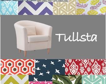 Customized Ikea Chair Covers, Tullsta Slipcover