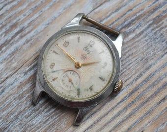 SVET-RAKETA Vintage Soviet Russian wrist watch for parts. Didn't work.