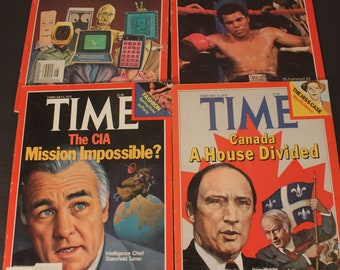 Time Magazine February 1978 Lot of 4