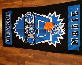 Vintage Orlando Magic NBA Basketball Beach Towel Jay Franco 100% Cotton