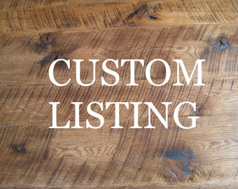 CUSTOM LISTING: Oak Bedroom Furniture