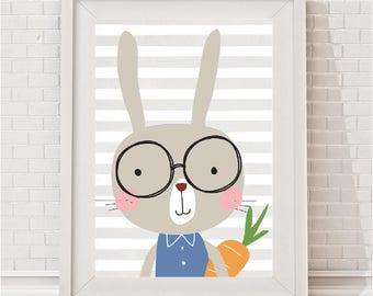 Maximus Bunny Print